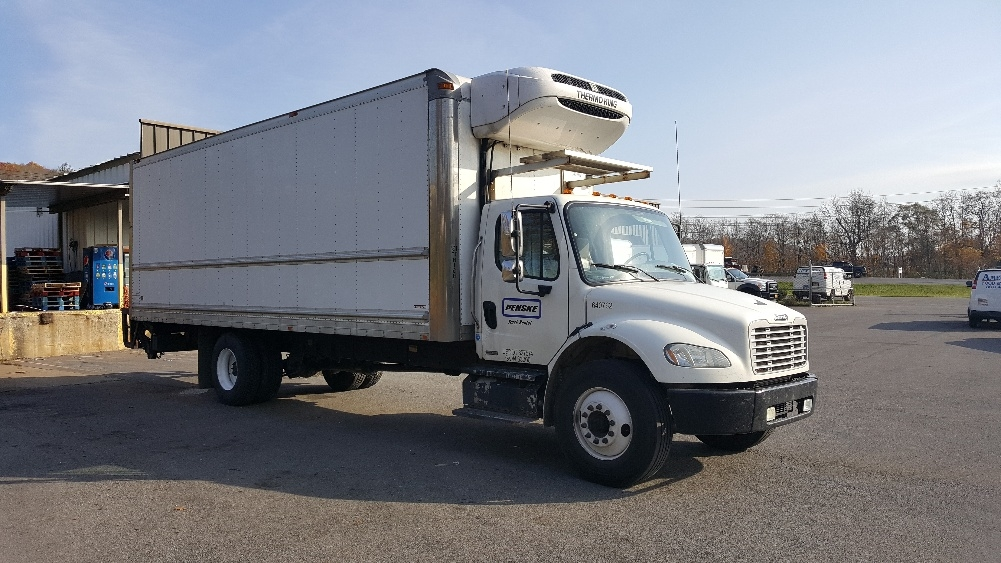 Reefer Truck-Light and Medium Duty Trucks-Freightliner-2013-M2-BINGHAMTON-NY-164,189 miles-$44,750