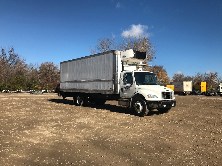 Reefer Truck-Light and Medium Duty Trucks-Freightliner-2013-M2-PLYMOUTH-MI-218,179 miles-$44,750