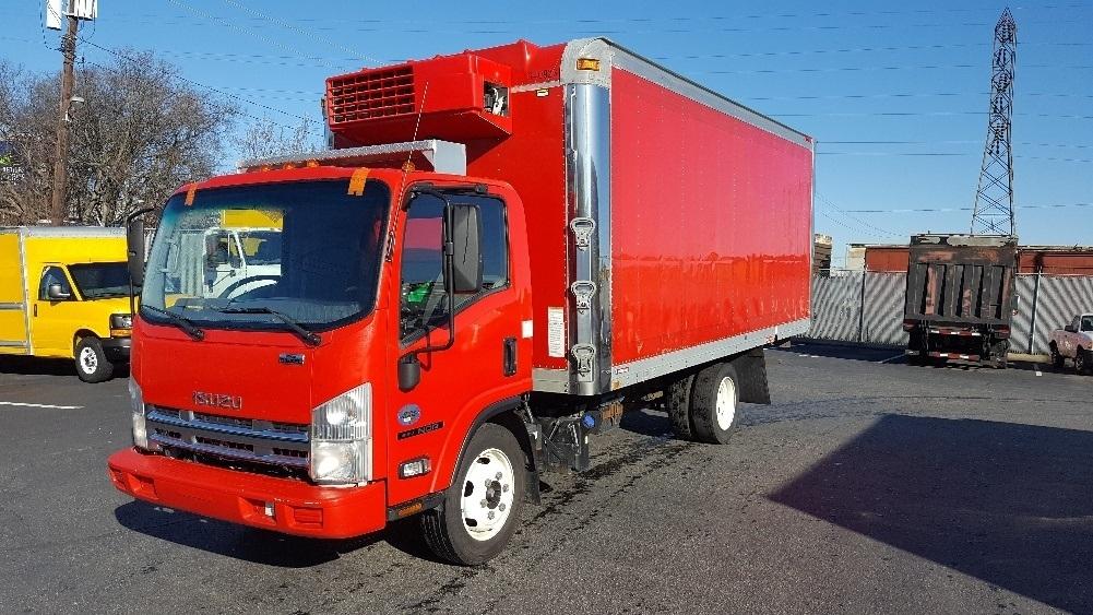 Reefer Truck-Light and Medium Duty Trucks-Isuzu-2012-NQR-LA VERGNE-TN-120,055 miles-$34,750