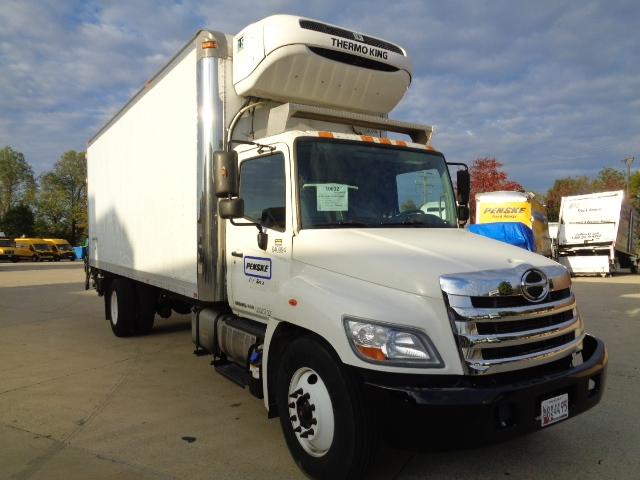 Reefer Truck-Light and Medium Duty Trucks-Hino-2013-268-BALTIMORE-MD-160,898 miles-$45,000