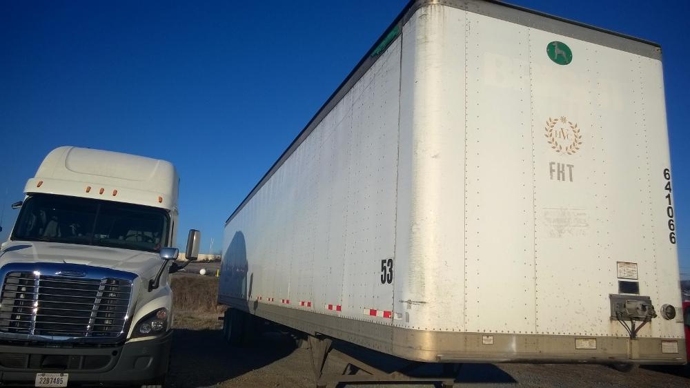 Dry Van Trailer-Semi Trailers-Great Dane-2004-Trailer-FLAT ROCK-MI-268,522 miles-$9,750