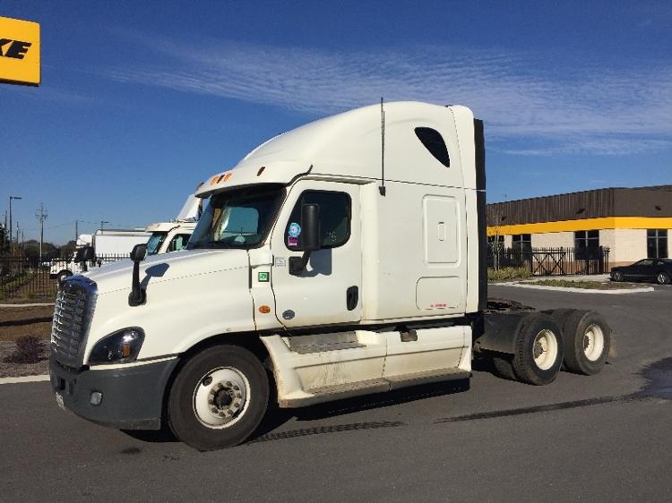 Sleeper Tractor-Heavy Duty Tractors-Freightliner-2013-Cascadia 12564ST-MOBILE-AL-634,046 miles-$40,500