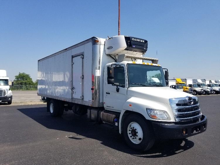 Reefer Truck-Light and Medium Duty Trucks-Hino-2013-338-WHITE DEER-PA-237,708 miles-$28,000