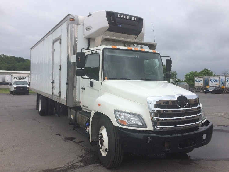 Reefer Truck-Light and Medium Duty Trucks-Hino-2013-338-WILKES BARRE-PA-249,178 miles-$26,250