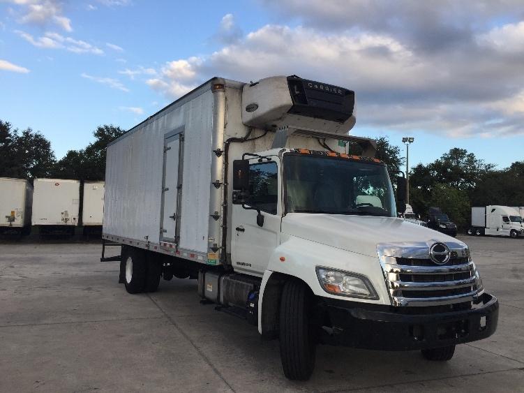 Reefer Truck-Light and Medium Duty Trucks-Hino-2013-268-ORLANDO-FL-132,875 miles-$40,000