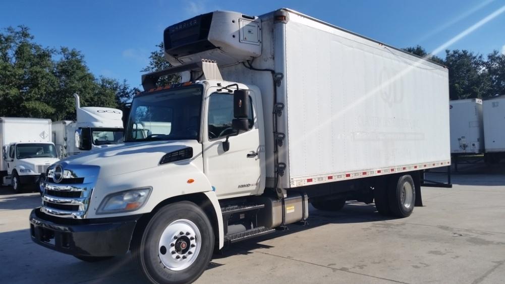 Reefer Truck-Light and Medium Duty Trucks-Hino-2013-268-ORLANDO-FL-244,443 miles-$39,750