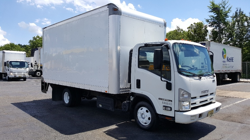 Medium Duty Box Truck-Light and Medium Duty Trucks-Isuzu-2012-NPR-PARSIPPANY-NJ-161,829 miles-$21,000
