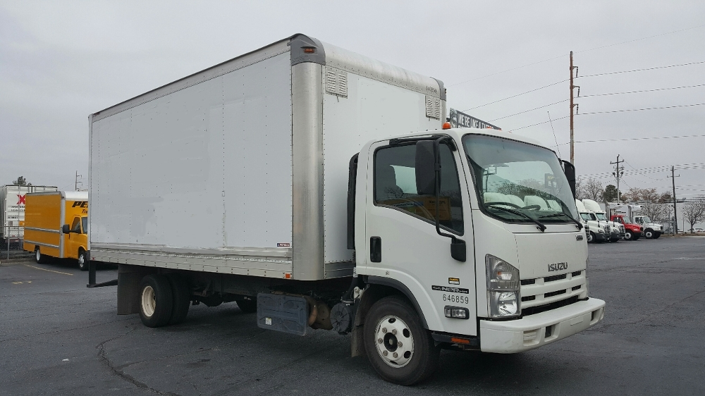 Medium Duty Box Truck-Light and Medium Duty Trucks-Isuzu-2012-NPR-CONYERS-GA-111,597 miles-$23,250