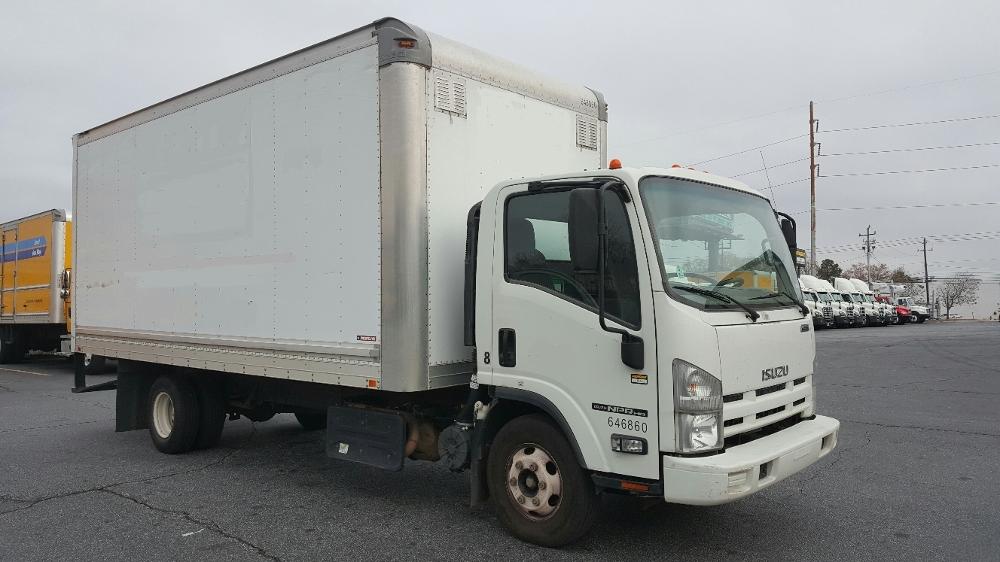 Medium Duty Box Truck-Light and Medium Duty Trucks-Isuzu-2012-NPR-CONYERS-GA-111,457 miles-$22,750