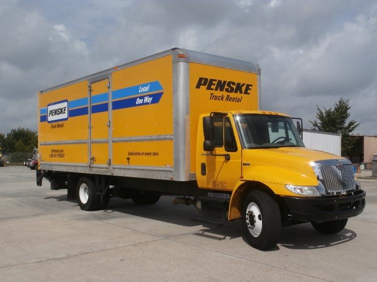 Medium Duty Box Truck-Light and Medium Duty Trucks-International-2013-4300-LOWELL-AR-141,048 miles-$31,000