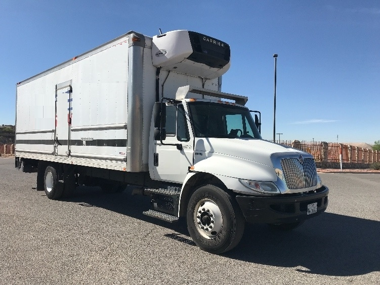 Reefer Truck-Light and Medium Duty Trucks-International-2013-4300-EL PASO-TX-135,670 miles-$41,500