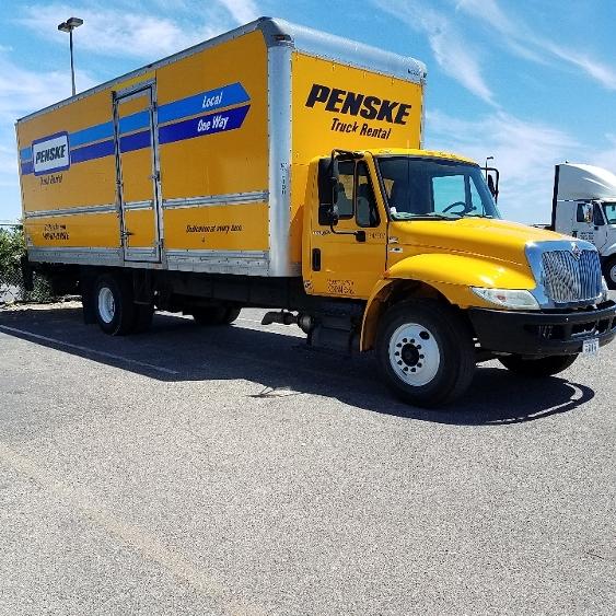 Medium Duty Box Truck-Specialized Equipment-International-2013-4300-WEST SACRAMENTO-CA-118,501 miles-$41,250