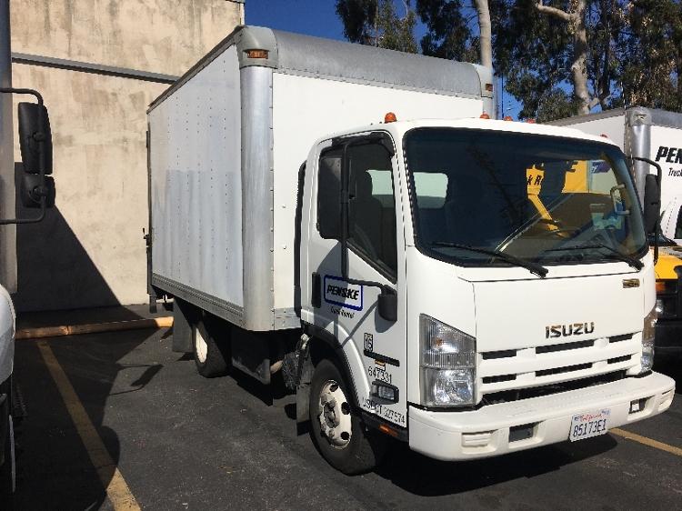 Medium Duty Box Truck-Light and Medium Duty Trucks-Isuzu-2012-NPR-LOS ANGELES-CA-61,870 miles-$28,500