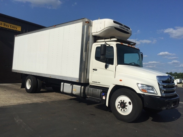 Reefer Truck-Light and Medium Duty Trucks-Hino-2013-338-PENNSAUKEN-NJ-238,926 miles-$30,000