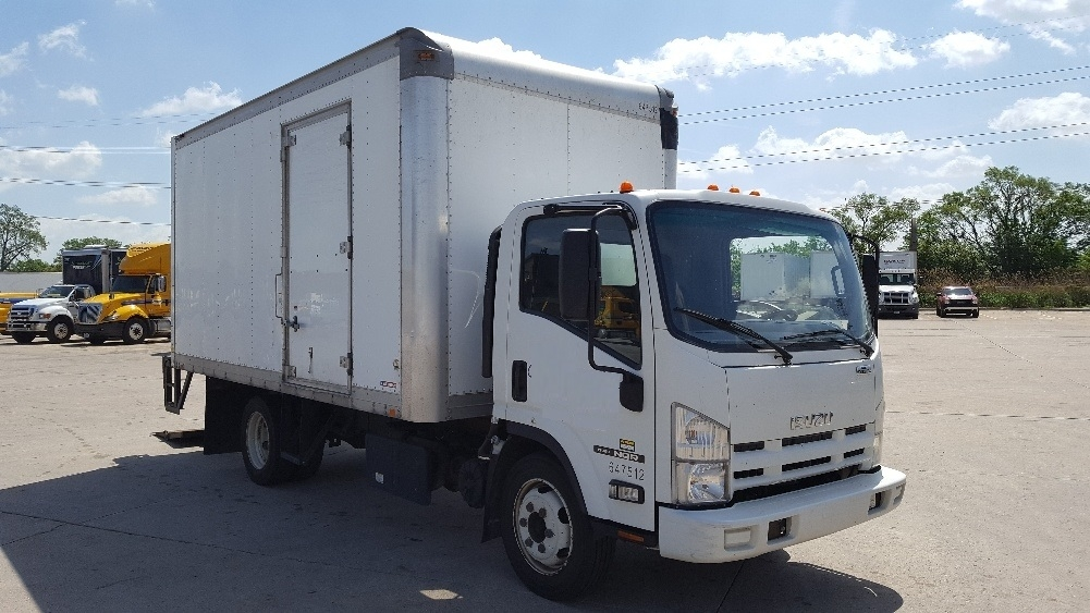 Medium Duty Box Truck-Light and Medium Duty Trucks-Isuzu-2012-NQR-ALLEN PARK-MI-274,446 miles-$16,250