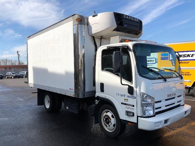 Reefer Truck-Light and Medium Duty Trucks-Isuzu-2012-NQR-BALTIMORE-MD-161,124 miles-$33,750