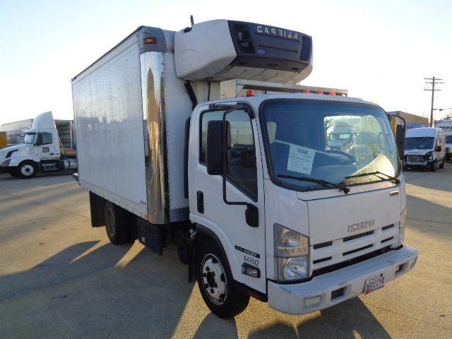 Reefer Truck-Light and Medium Duty Trucks-Isuzu-2012-NQR-BALTIMORE-MD-149,630 miles-$33,500