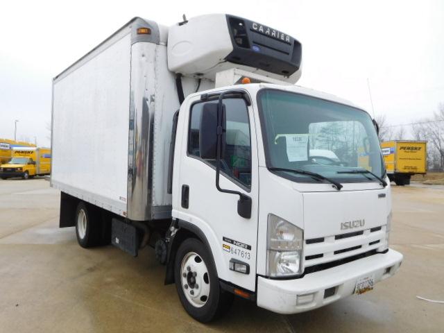 Reefer Truck-Light and Medium Duty Trucks-Isuzu-2012-NQR-BALTIMORE-MD-144,144 miles-$33,500