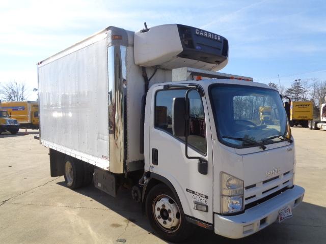 Reefer Truck-Light and Medium Duty Trucks-Isuzu-2012-NQR-BALTIMORE-MD-118,077 miles-$34,500