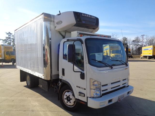 Reefer Truck-Light and Medium Duty Trucks-Isuzu-2012-NQR-BALTIMORE-MD-136,202 miles-$30,500