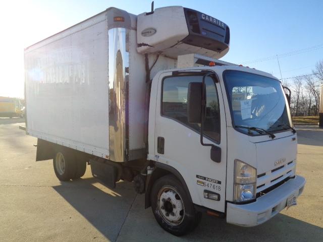 Reefer Truck-Light and Medium Duty Trucks-Isuzu-2012-NQR-BALTIMORE-MD-135,142 miles-$34,500