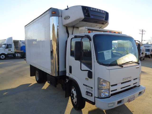 Reefer Truck-Light and Medium Duty Trucks-Isuzu-2012-NQR-BALTIMORE-MD-117,204 miles-$32,750