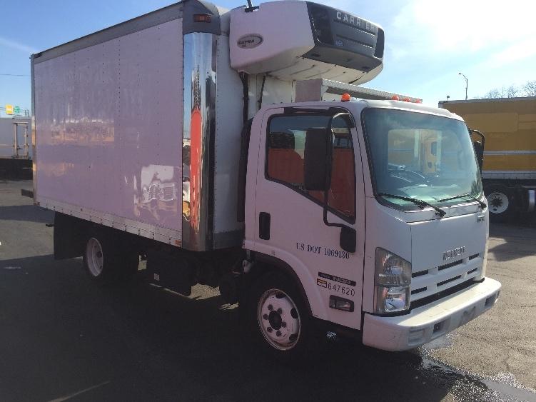 Reefer Truck-Light and Medium Duty Trucks-Isuzu-2012-NQR-BALTIMORE-MD-137,507 miles-$30,250