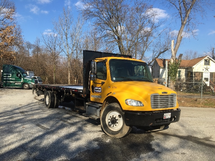 Flatbed Truck-Light and Medium Duty Trucks-Freightliner-2013-M2-JESSUP-MD-163,425 miles-$37,500