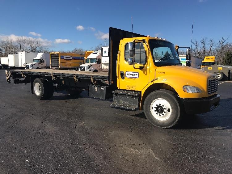 Flatbed Truck-Light and Medium Duty Trucks-Freightliner-2013-M2-BENSALEM-PA-196,277 miles-$30,500