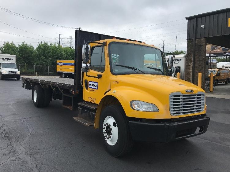 Flatbed Truck-Light and Medium Duty Trucks-Freightliner-2013-M2-NORTH BERGEN-NJ-201,312 miles-$32,750