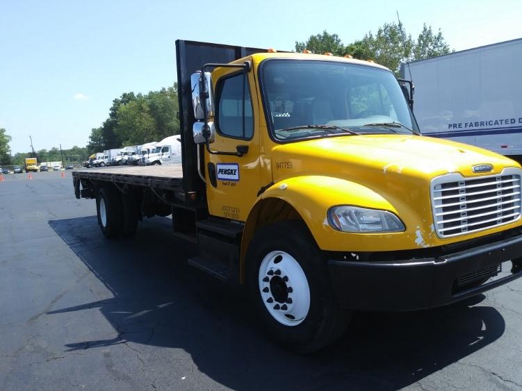 Flatbed Truck-Light and Medium Duty Trucks-Freightliner-2013-M2-BENSALEM-PA-130,647 miles-$33,750