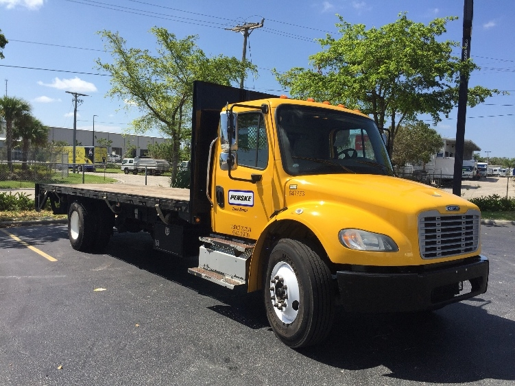 Flatbed Truck-Specialized Equipment-Freightliner-2013-M2-RIVIERA BEACH-FL-78,498 miles-$53,750