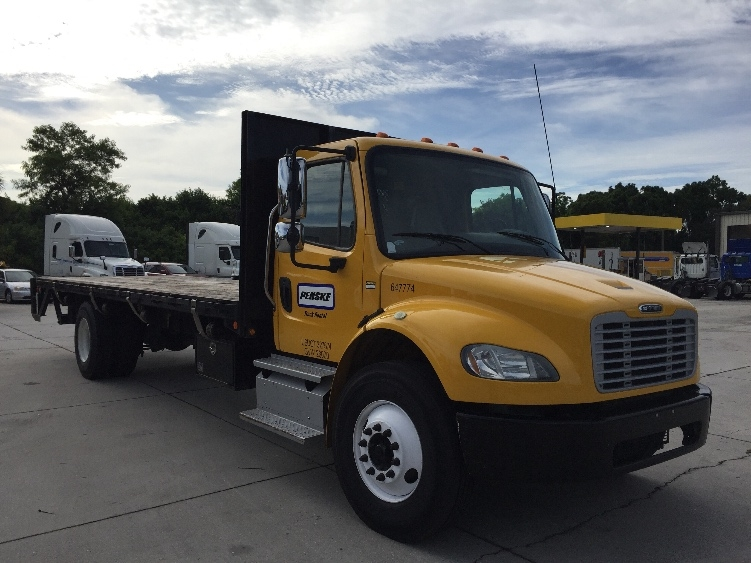 Flatbed Truck-Light and Medium Duty Trucks-Freightliner-2013-M2-TAMPA-FL-88,226 miles-$52,750