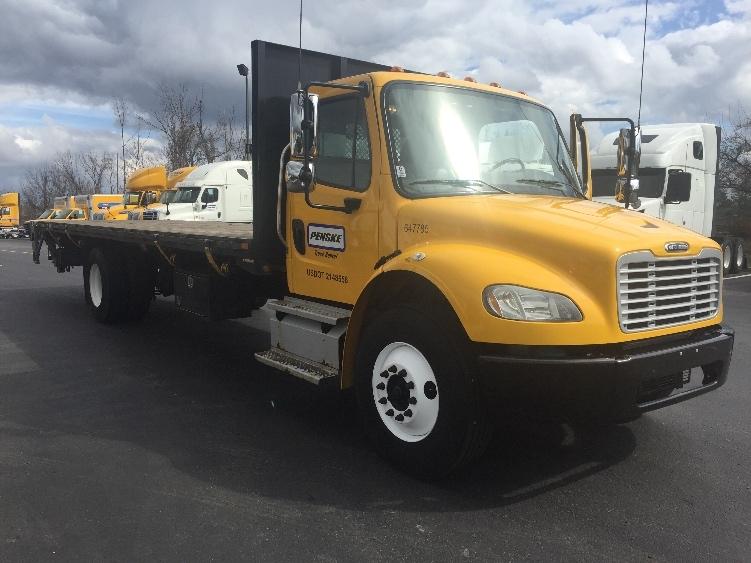 Flatbed Truck-Light and Medium Duty Trucks-Freightliner-2013-M2-CINCINNATI-OH-139,491 miles-$46,250