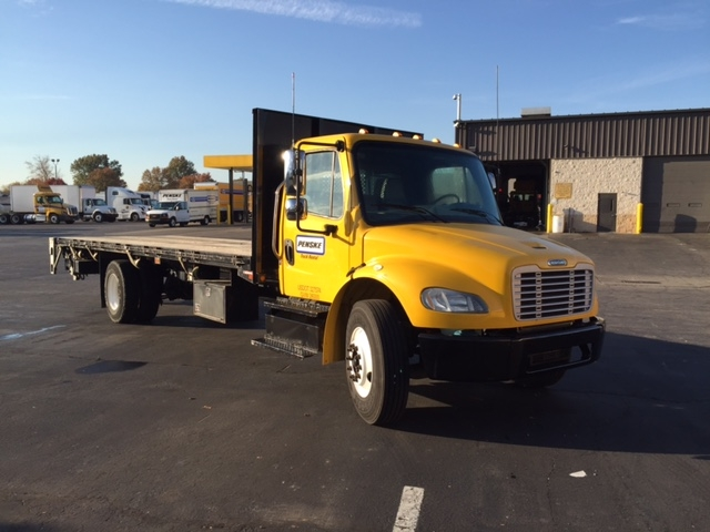 Flatbed Truck-Light and Medium Duty Trucks-Freightliner-2013-M2-LOUISVILLE-KY-105,451 miles-$45,000
