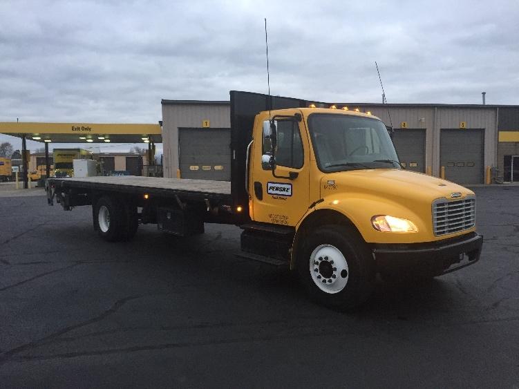 Flatbed Truck-Light and Medium Duty Trucks-Freightliner-2013-M2-ELKHART-IN-84,003 miles-$52,500