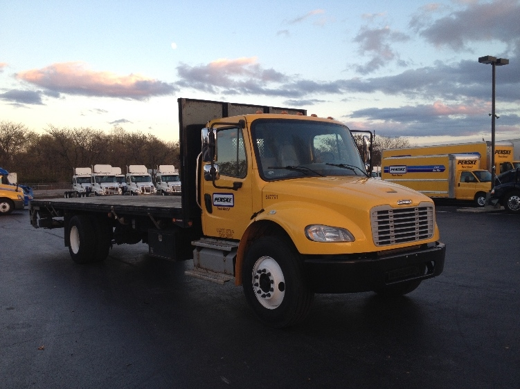 Flatbed Truck-Light and Medium Duty Trucks-Freightliner-2013-M2-CARLISLE-PA-133,133 miles-$52,000