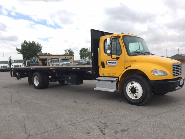 Flatbed Truck-Light and Medium Duty Trucks-Freightliner-2013-M2-FRESNO-CA-107,658 miles-$55,000