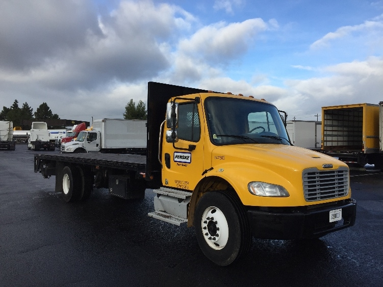 Flatbed Truck-Light and Medium Duty Trucks-Freightliner-2013-M2-HAYWARD-CA-96,648 miles-$56,000