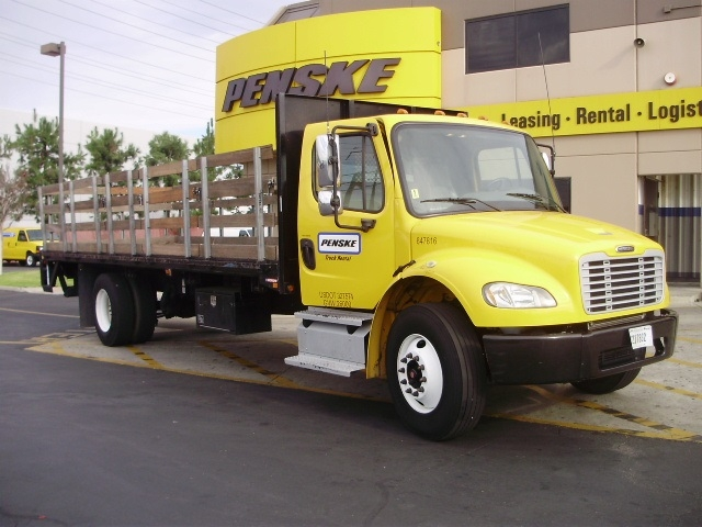 Flatbed Truck-Light and Medium Duty Trucks-Freightliner-2013-M2-MONTEBELLO-CA-93,758 miles-$55,750