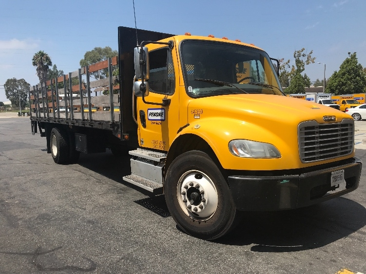Flatbed Truck-Light and Medium Duty Trucks-Freightliner-2013-M2-TORRANCE-CA-108,205 miles-$50,500