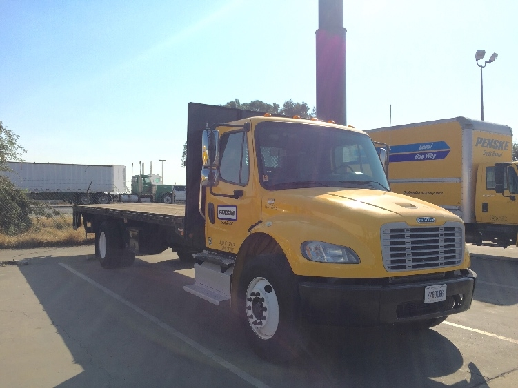 Flatbed Truck-Light and Medium Duty Trucks-Freightliner-2013-M2-FRESNO-CA-86,968 miles-$54,750