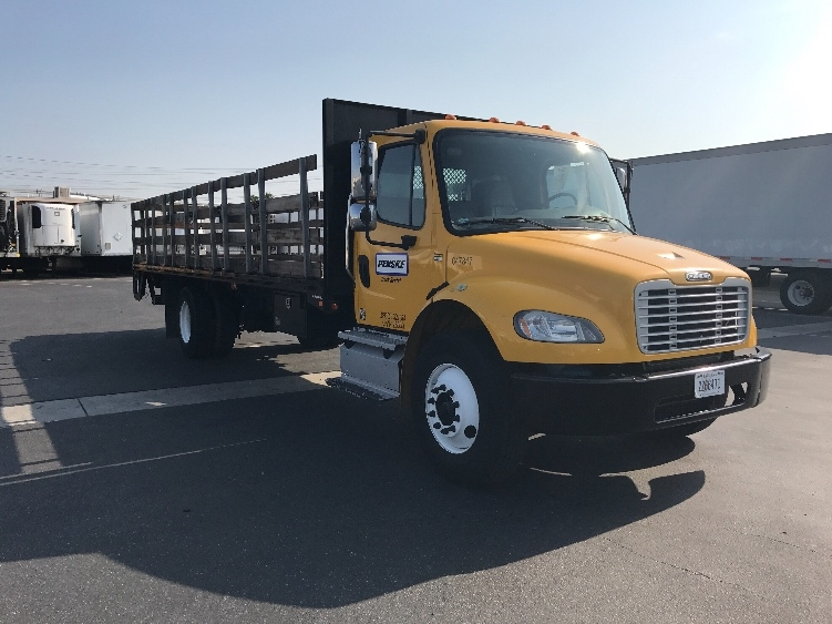 Flatbed Truck-Light and Medium Duty Trucks-Freightliner-2013-M2-TORRANCE-CA-101,080 miles-$51,250