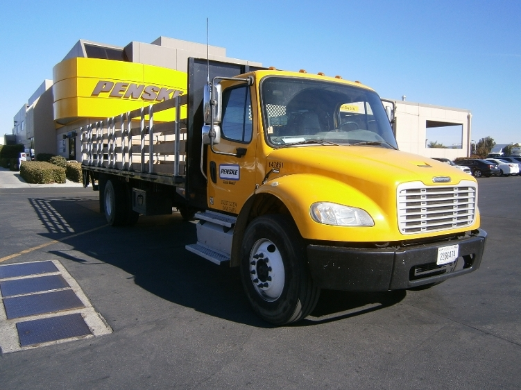 Flatbed Truck-Light and Medium Duty Trucks-Freightliner-2013-M2-TORRANCE-CA-101,506 miles-$55,500
