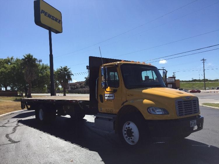 Flatbed Truck-Light and Medium Duty Trucks-Freightliner-2013-M2-SAN ANTONIO-TX-127,471 miles-$51,500