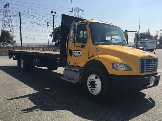 Flatbed Truck-Light and Medium Duty Trucks-Freightliner-2013-M2-CORONA-CA-123,074 miles-$47,250