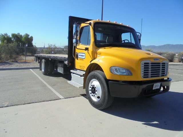 Flatbed Truck-Light and Medium Duty Trucks-Freightliner-2013-M2-CORONA-CA-125,538 miles-$55,500