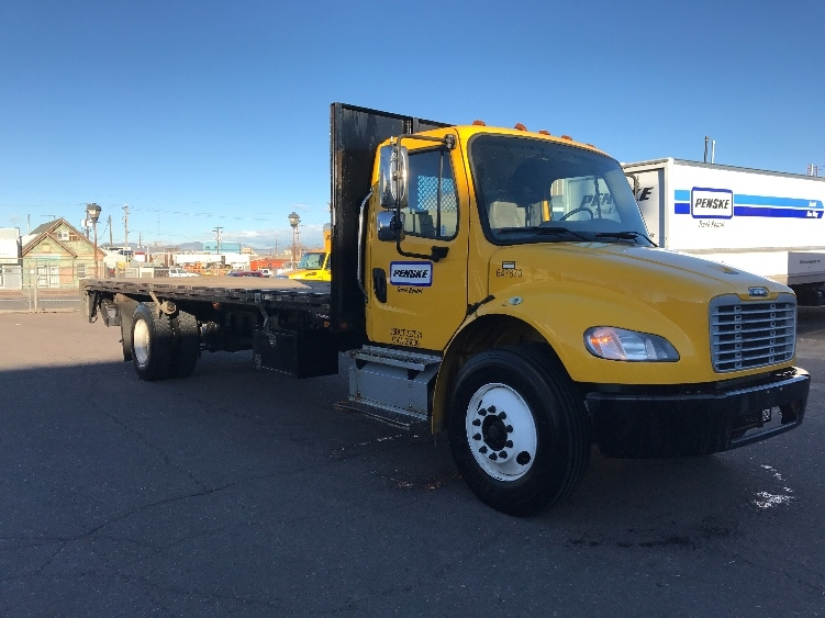 Flatbed Truck-Light and Medium Duty Trucks-Freightliner-2013-M2-DENVER-CO-167,691 miles-$40,750