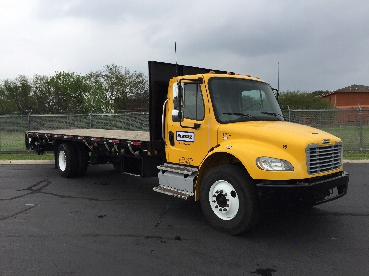 Flatbed Truck-Light and Medium Duty Trucks-Freightliner-2013-M2-SAN ANTONIO-TX-149,369 miles-$47,250