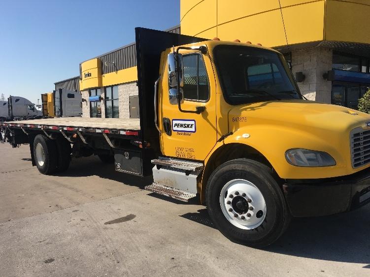 Flatbed Truck-Light and Medium Duty Trucks-Freightliner-2013-M2-HOUSTON-TX-120,094 miles-$52,250